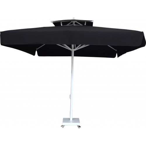 3,5 m x 3,5 m Kare Bacalı Şemsiye