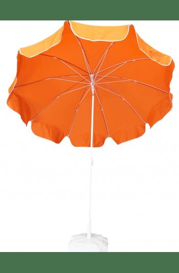 2m Turuncu Plaj Şemsiyesi