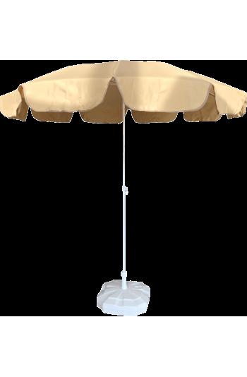 2m Bej  Plaj Şemsiyesi