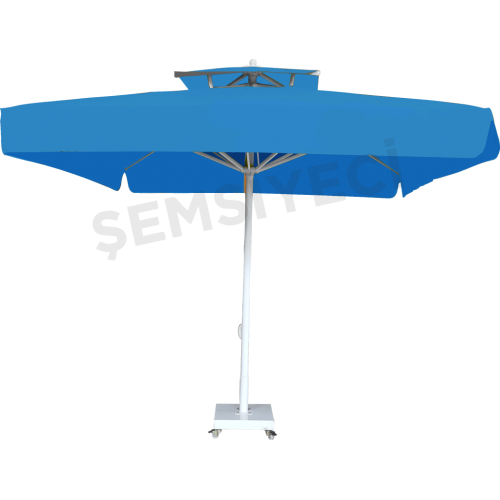 3m x 3m Kare Bacalı Şemsiye