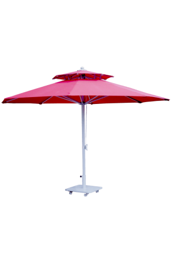 3 M Yuvarlak Saçaksız Şemsiye