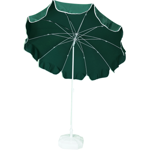 2m Yeşil Plaj Şemsiyesi